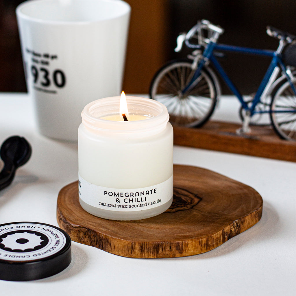 pomegranate & chilli travel candle