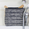 Scallop Tall Wash Bag