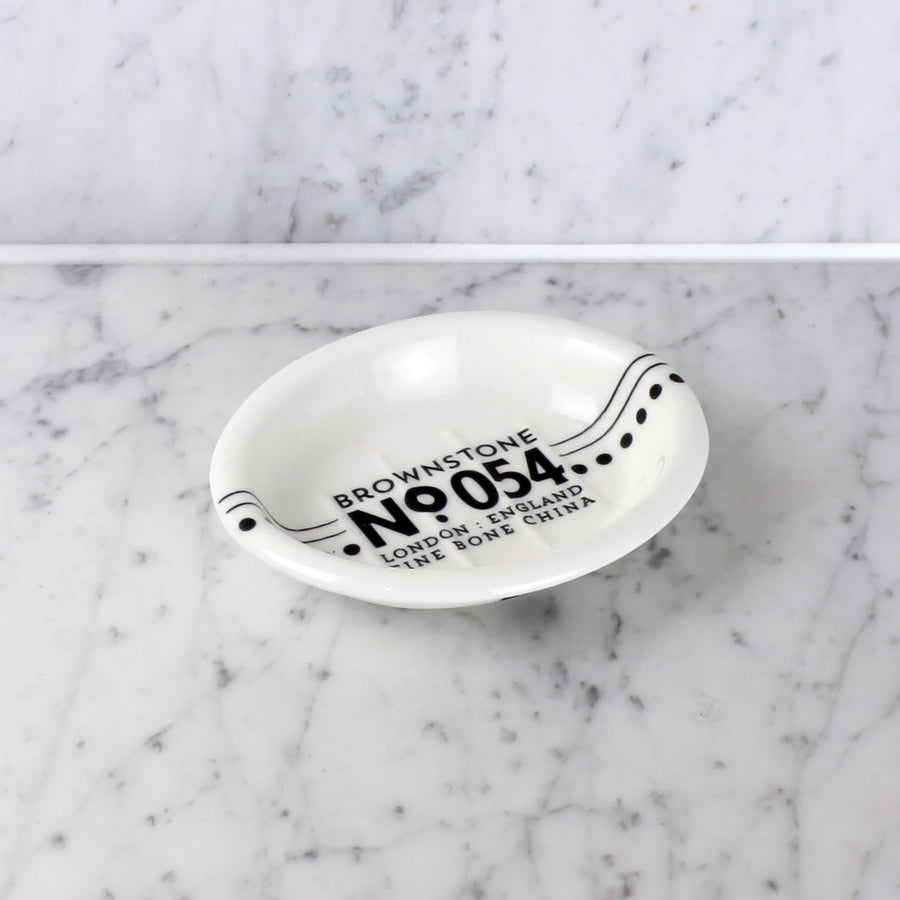 Brownstone soap dish