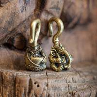 Ganesh Brass Ear Weights