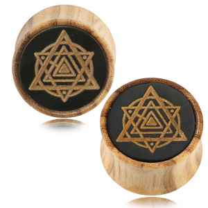 Sri Yantra Ear Plugs
