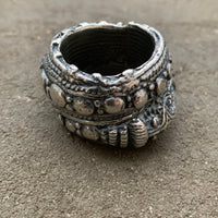 Chunky Antique Silver Ring