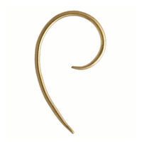 9 Karat Gold Hunchback Hook