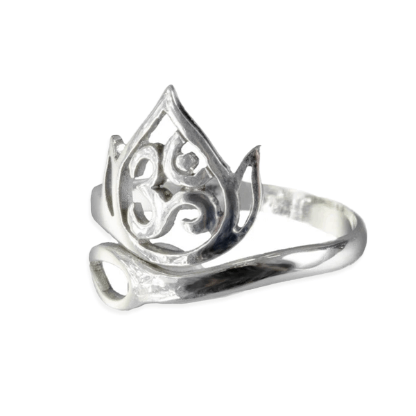 products/Adjustable_Om_Lotus_Silver_Ring.png