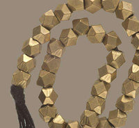 Diamond Shaped Brass Beads Bracelet - Tribu  - 3