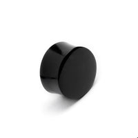 Black Agate Stone Plug | Tribu Gauge Jewellery