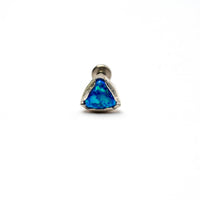 Triangle Blue Opal Tragus