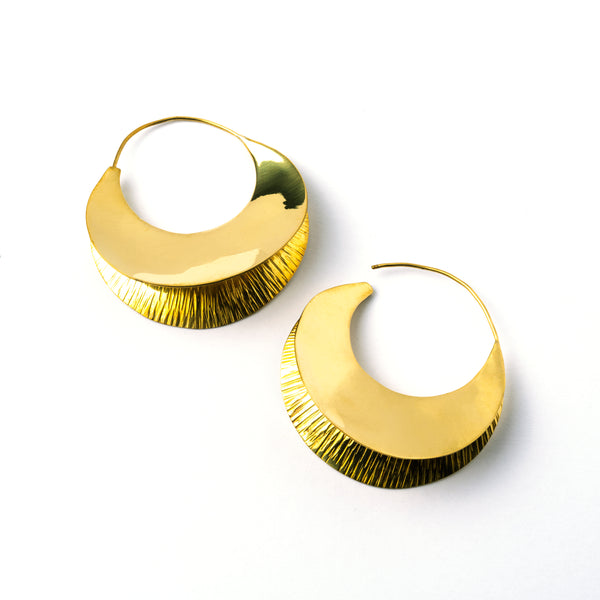Fula plates Earrings