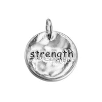 Sterling Silver pendant courage