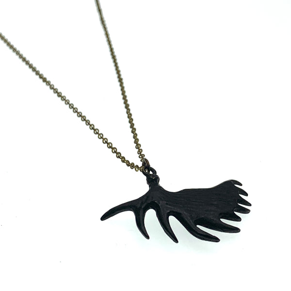Moose horn necklace | Tribu