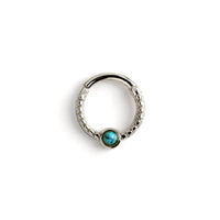 Dayaa Septum Ring with Gemstone | Tribu Helix / Tragus / Cartilage