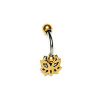 Delicate Lotus  Belly Piercing, Barbell, Belly Bar, Barbell Belly, Belly Piercing Jewellery, Belly Bar Piercing, Navel Bar, Belly Button Ring, Belly Ring, Piercing Jewellery, Body Jewellery, Navel Jewellery, Navel Piercing Ring
