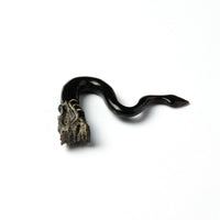Dragon Solid Horn Hook with Pointy Tail