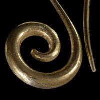 Indian Gold Swan Spiral