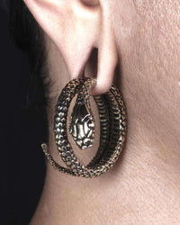 Brass Snake Ear Weight - Tribu  - 3