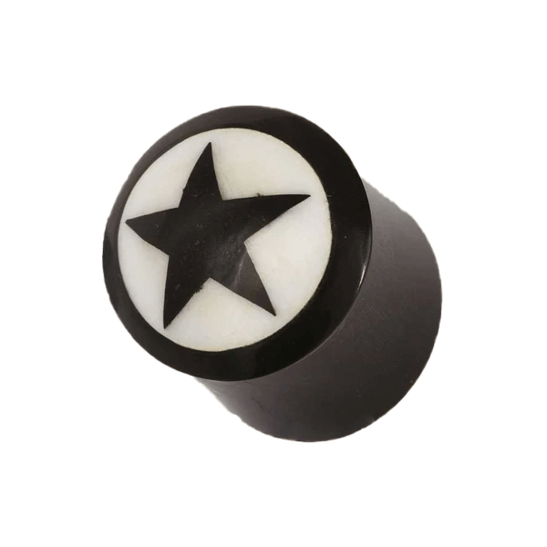 products/Five_Pointed_Star_Horn_And_Bone_Plug.png