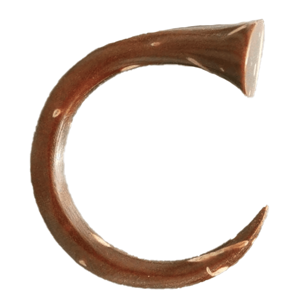 French Horn shape Coconut Hook