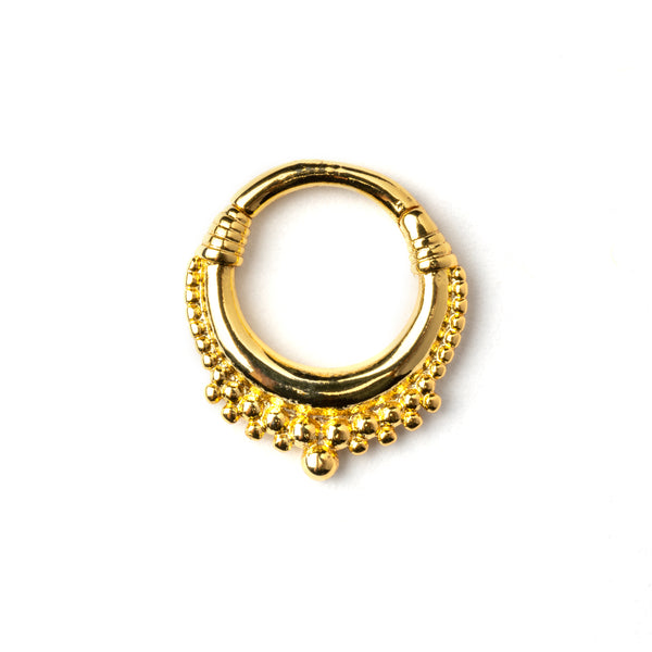 Gold Meena Septum Piercing