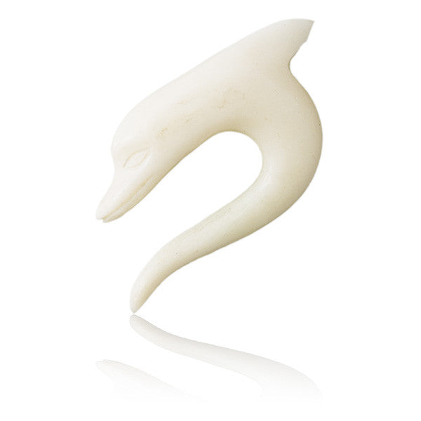 Dolphin Bone Solid Tribal Hook - Tribu