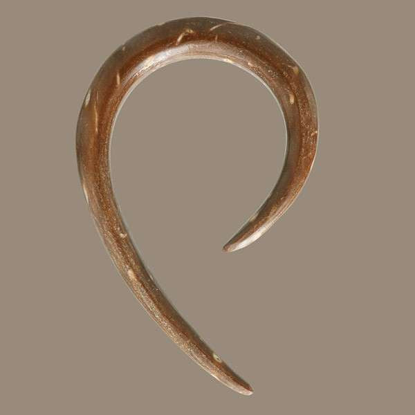 Curved Coconut Hook - Tribu