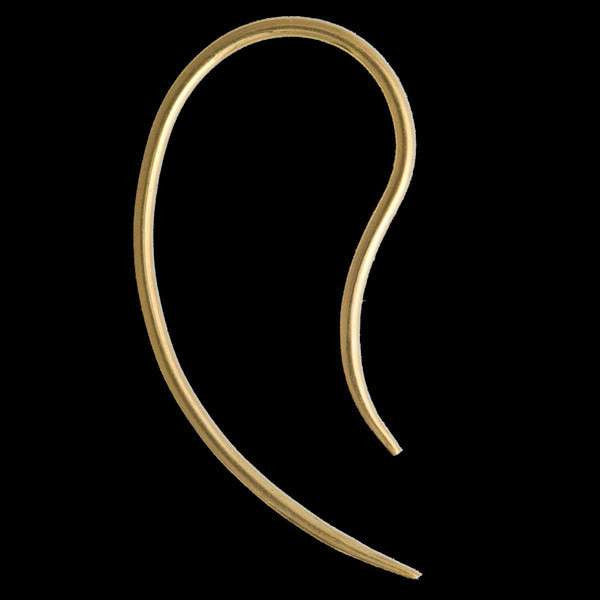 Double Sided Gold Hook - Tribu