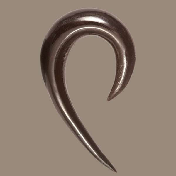 Curved Horn Solid Hook - Tribu