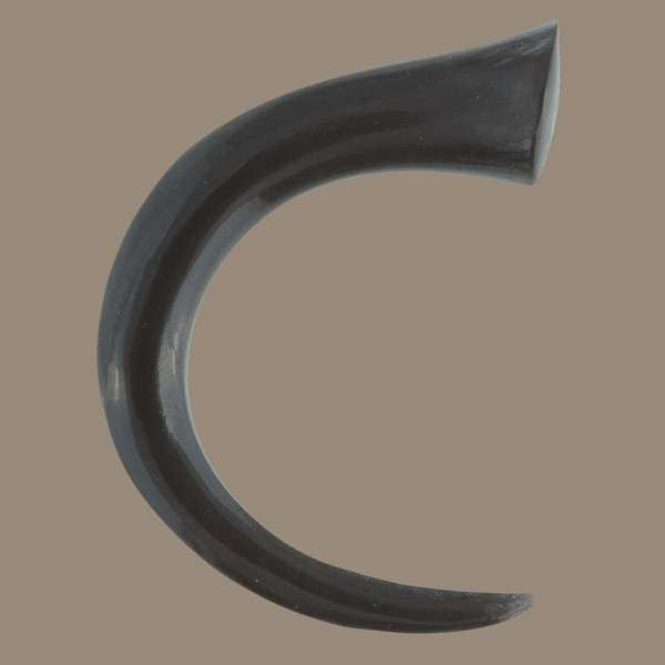 Half Moon Solid Horn Hook - Tribu