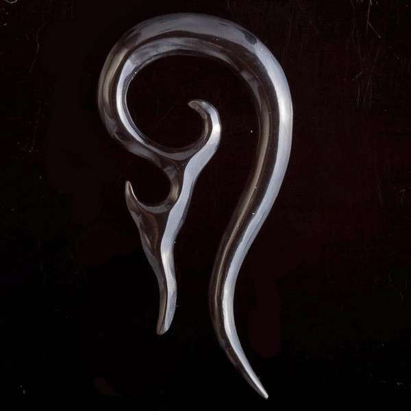 Double Fish Tail Solid Horn Hook - Tribu