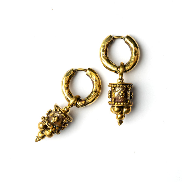 Afgan Cylinder Earrings