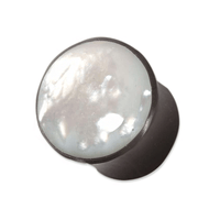 Horn And Mother Of Pearl Plug