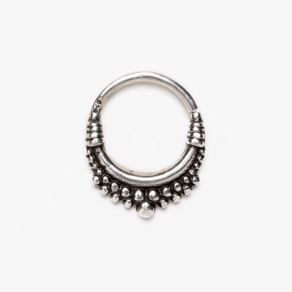 Lola Silver Septum | Tribu Nose Ring London