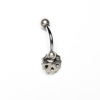 Lotus Flower Belly banana, Barbell, Belly Bar, Barbell Belly, Belly Piercing Jewellery, Belly Bar Piercing, Navel Bar, Belly Button Ring, Belly Ring, Piercing Jewellery, Body Jewellery, Navel Jewellery, Navel Piercing Ring