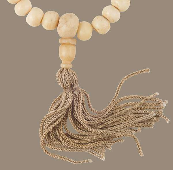 Praying Mala With 108 Bone Beads - Tribu