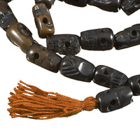 Brown Kali Skulls Mala - Tribu  - 2