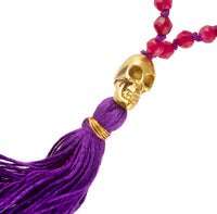 Ruby And Amethyst Stone Mala - Tribu  - 2