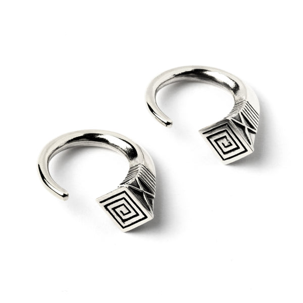Mali Silver Ear Weights