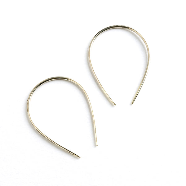 Horse Shoe Shaped Silver Hook