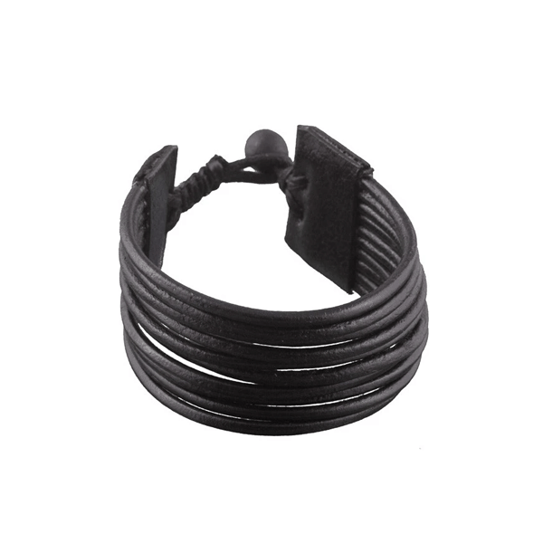 Multi Leather String Bracelet