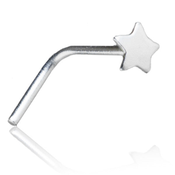 Silver Star Nose Stud - Tribu
