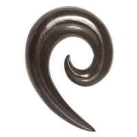 Triangular Spiral Solid Horn Hook