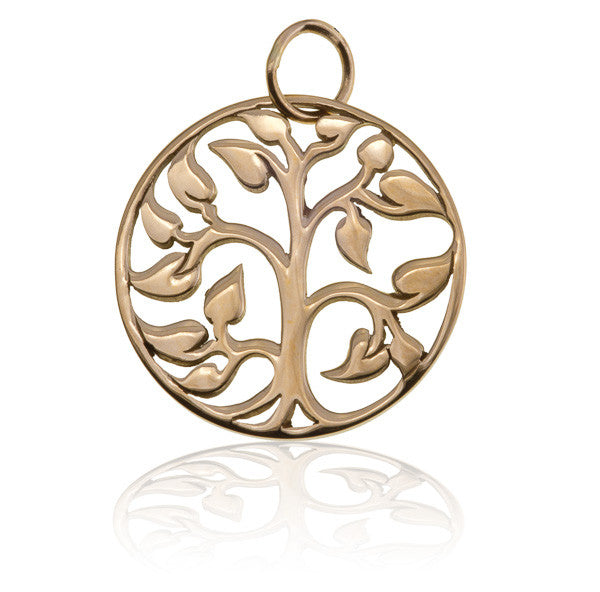 Bronze Tree Of Life Charm Pendant - Tribu