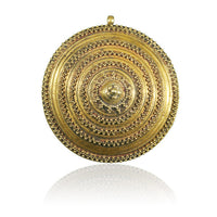 Indian Gold Plug Two Spheres - Tribu  - 2