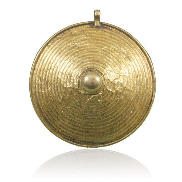 Indian Gold Plug Two Spheres - Tribu  - 3