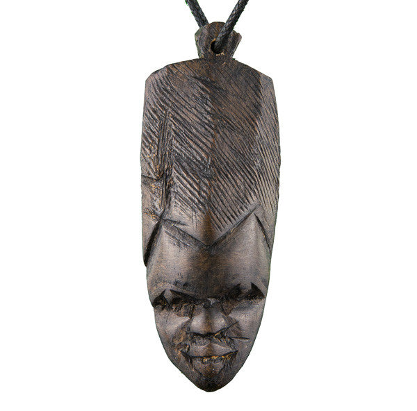 Ebony Woman Mask