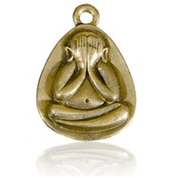 The Monk Brass Pendant - Tribu