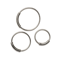 Pirate Silver Nose Ring | Tribu London