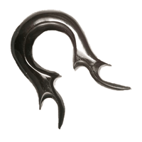 Pointy Solid Tribal Horn Hook