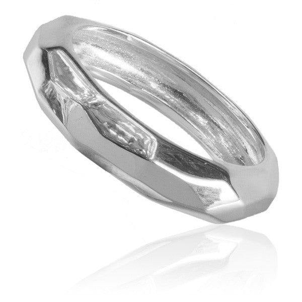 Sterling Silver faced Ring - Tribu  - 1