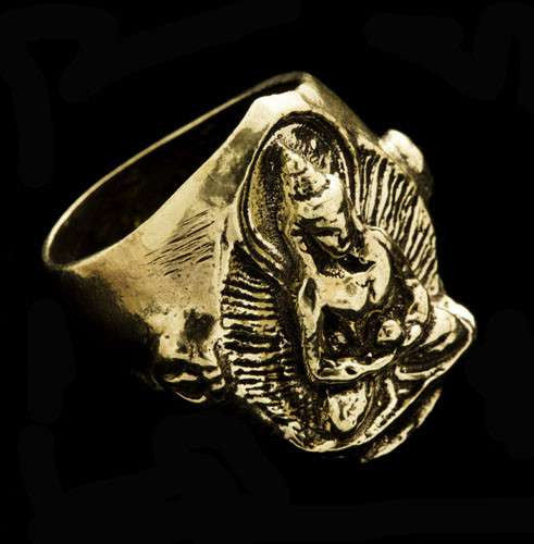 Shiva Brass Ring - Tribu