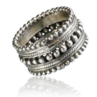 Hand Made 92.5 Silver Ring - Tribu